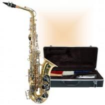 Saxophone alto Blumen KBAS-660 Laqué Or avec étui