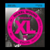 Cordes Basse électrique EXL170 Nickel Wound Bass, Light, 45-100, Long Scale