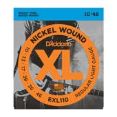 Cordes guitare électrique EXL110 Nickel Wound, Regular Light, 10-46